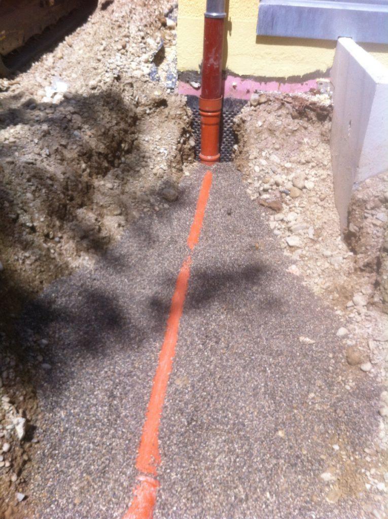 Regenentwässerung und Kanalanschluß für 2 Mehrfamilienhäuser Foto0001 (7)